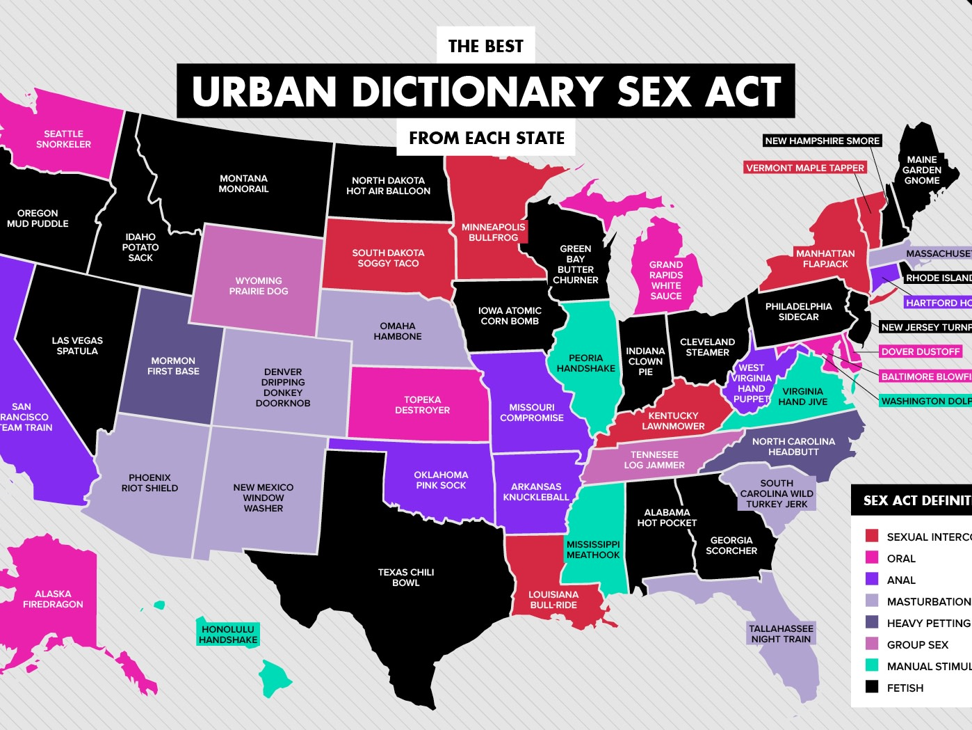 The Best Urban Dictionary Sex Act From Each State  Playboy-3489