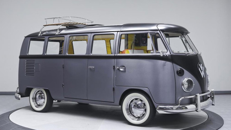 This 'Back to the Future'-Inspired Volkswagen Bus Can Be Yours for $90k: Velocity Motorcars