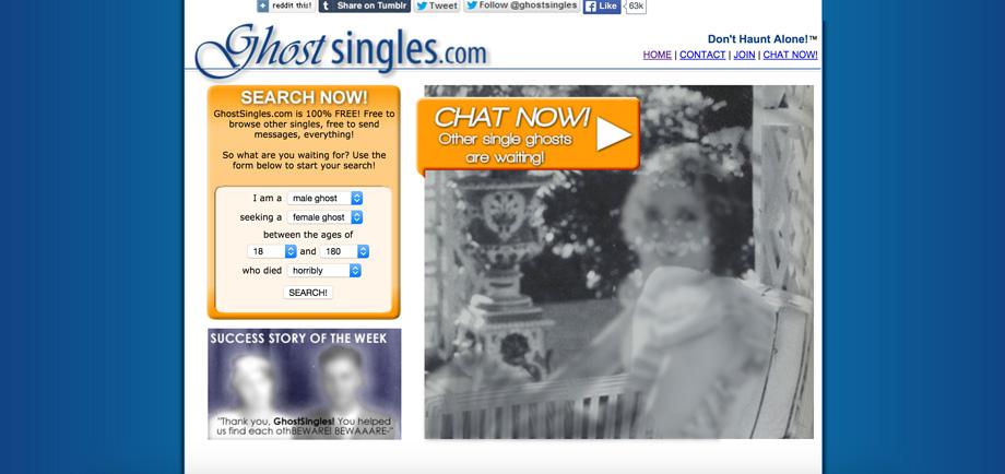 Ghostsingles dating site