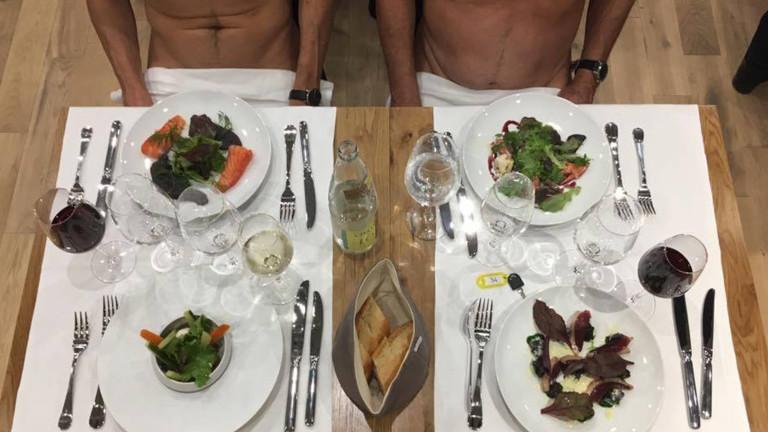 Paris Just Opened Its First Nudist Restaurant: Facebook/O'naturel