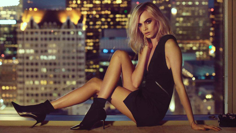 Watch Cara Delevingne Strut Through NYC in a Minidress Just Because: Jimmy Choo