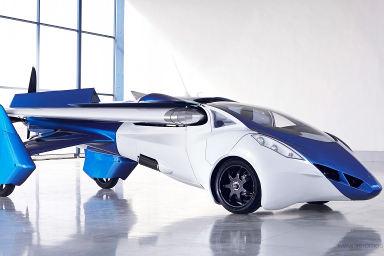 Looks Like Flying Cars Are Really Close to Happening: AeroMobil