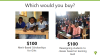 Scholarships vs learning levels