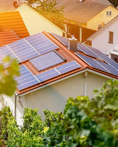 Energia sustentável e painéis solares