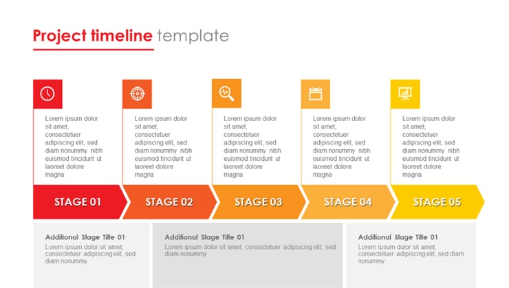 Office project timeline