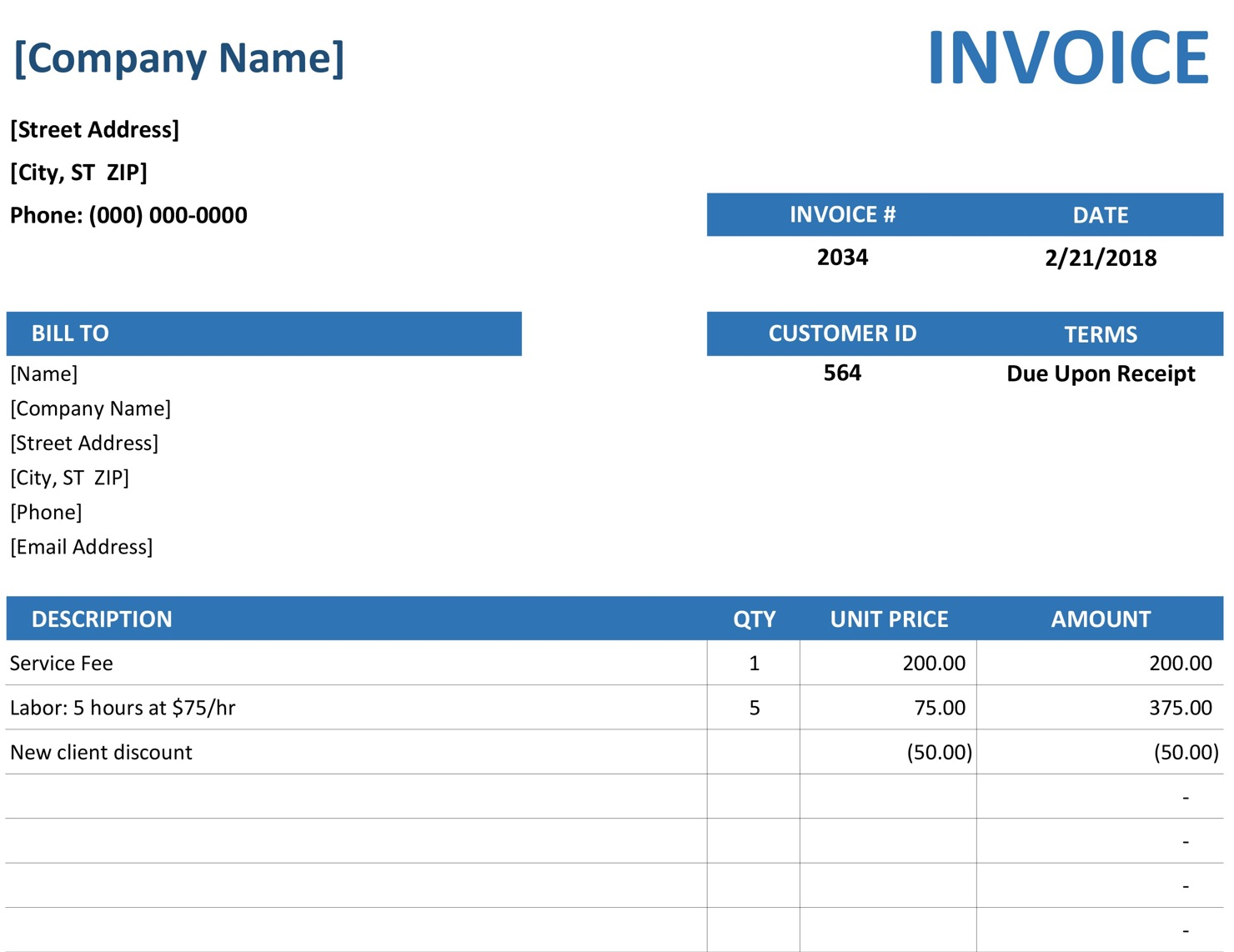 how to make an invoice  3 simple ways