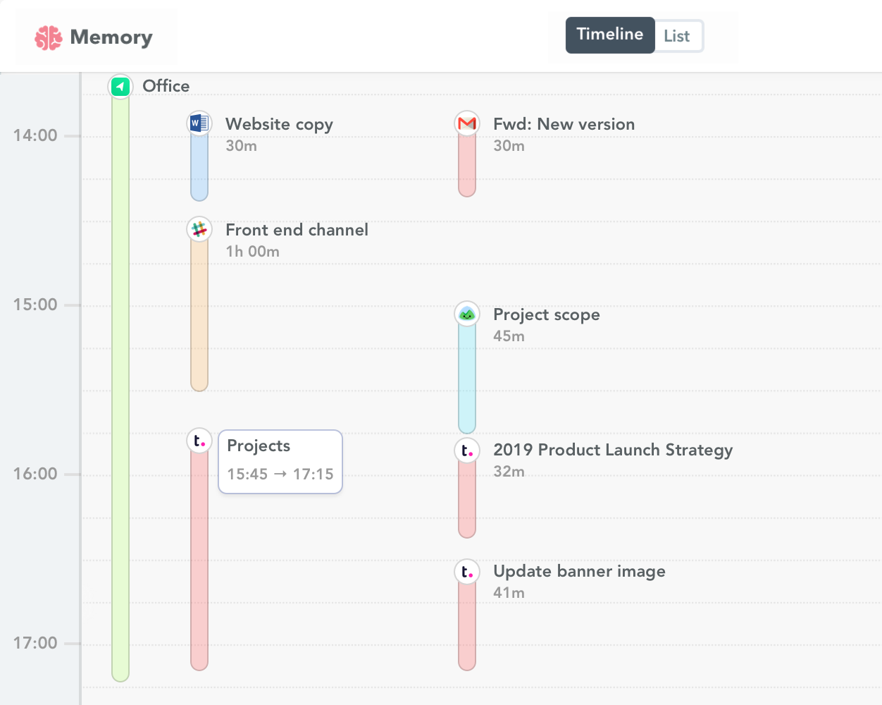 Teamwork time tracking
