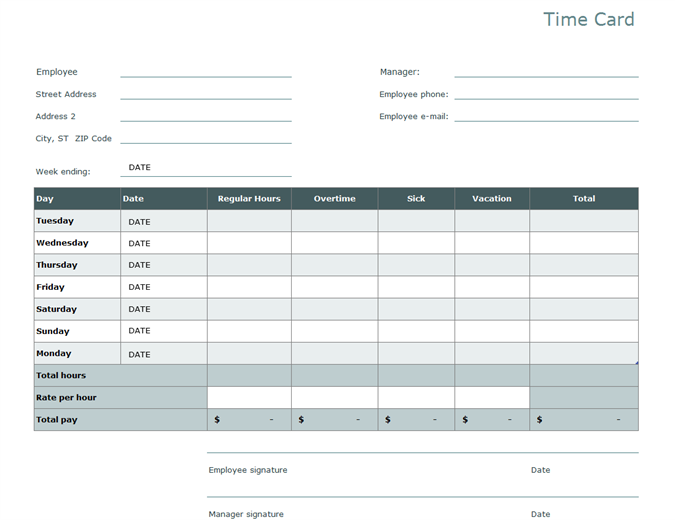 Timesheet Templates The Good The Bad The Pointless Timely