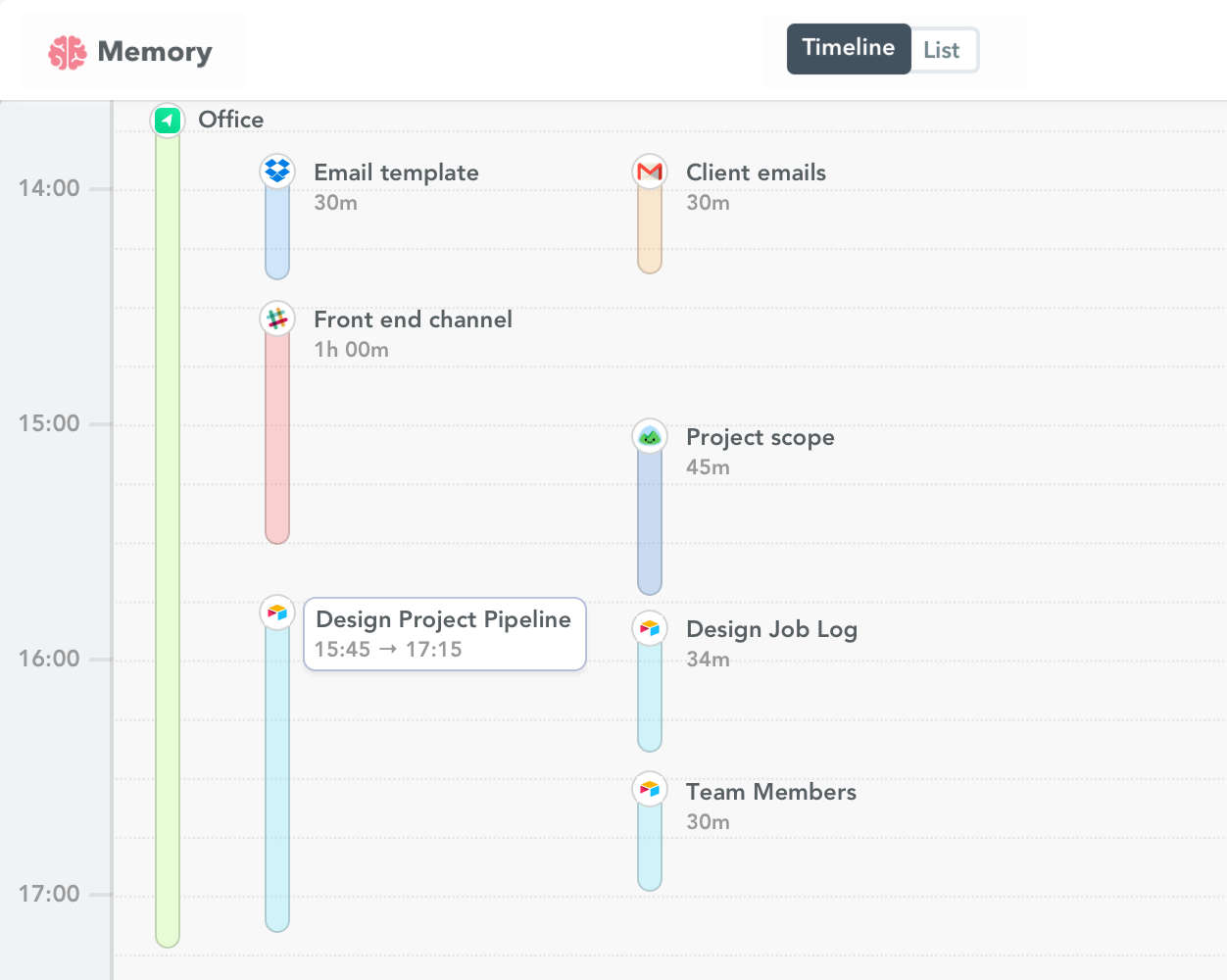 Airtable time tracking