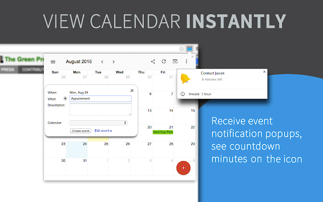 The 6 best Google Calendar extensions - Timely