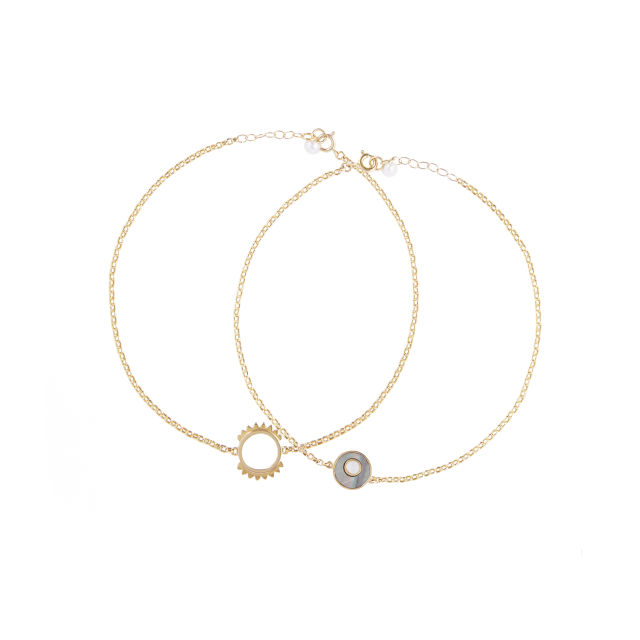 Helia necklace/anklets