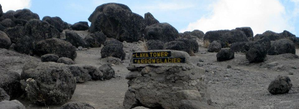 On the way to Lava Tower