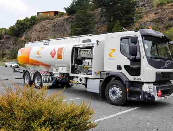 Z Energy Tanker Photo