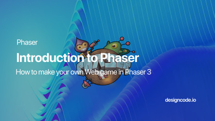 Create a Javascript Game in Phaser 3 by Design+Code