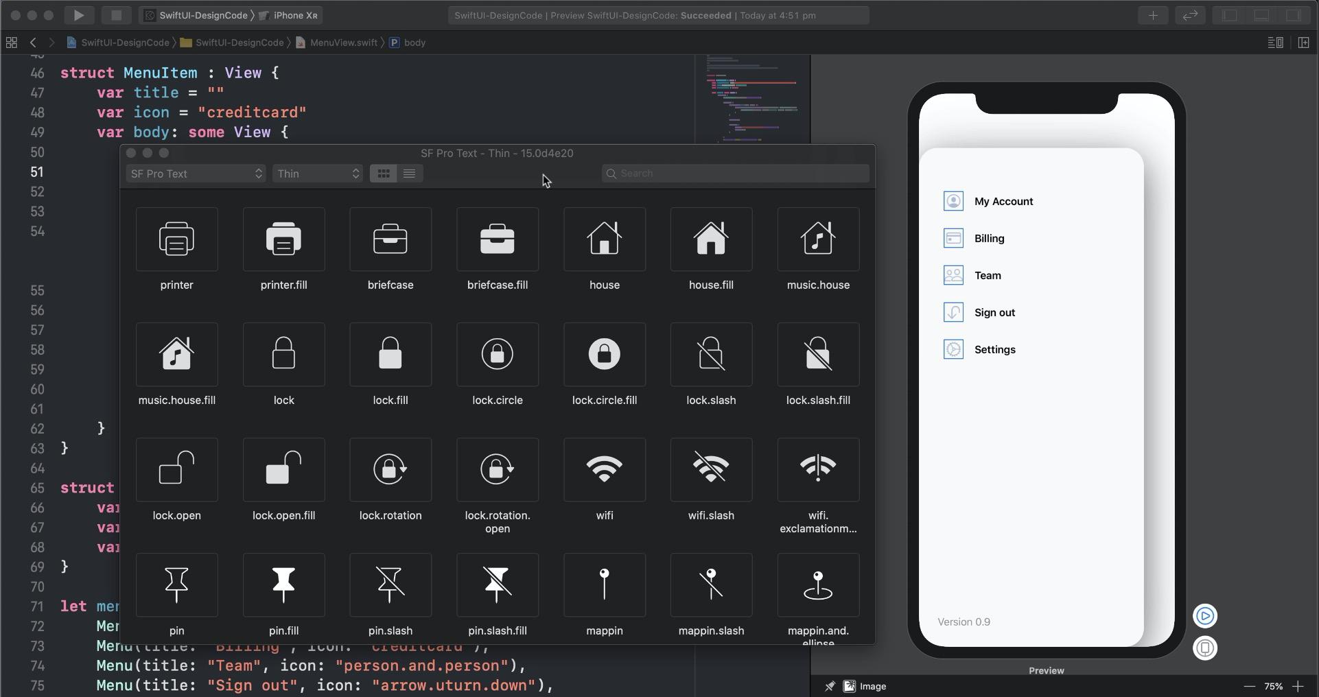 Learn SwiftUI for iOS 13 - Design+Code
