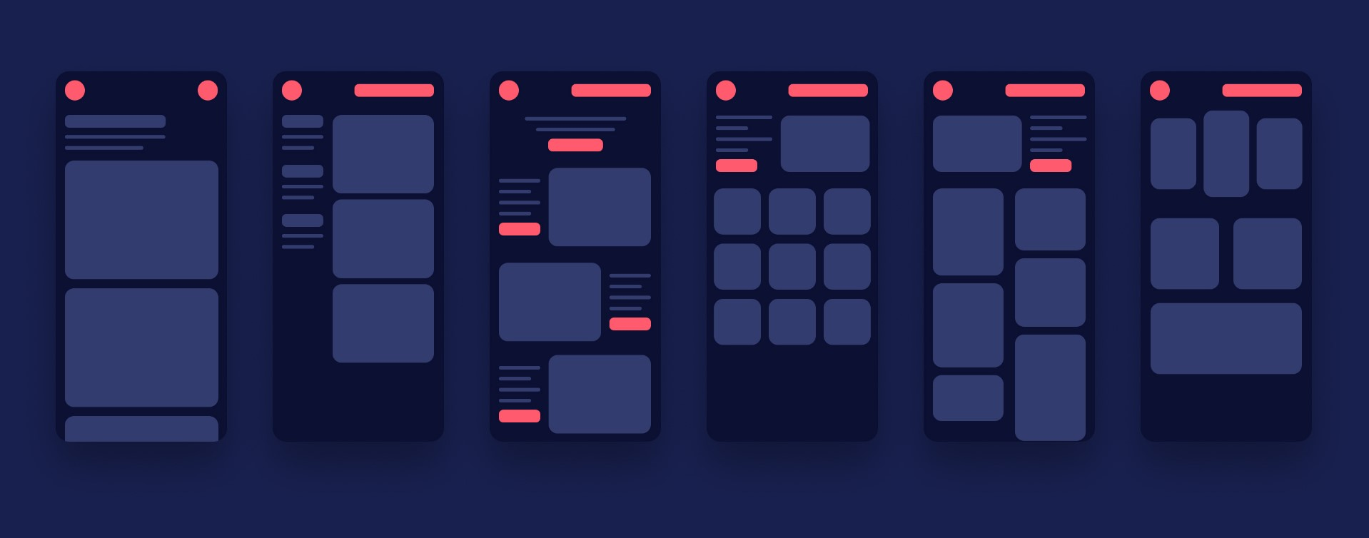 Wireframes and UI Patterns