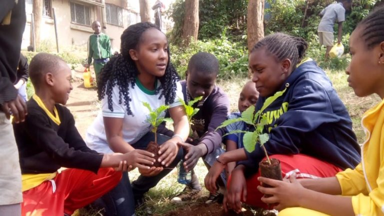 Elizabeth has deep ambitions to inspire future generations to be more green