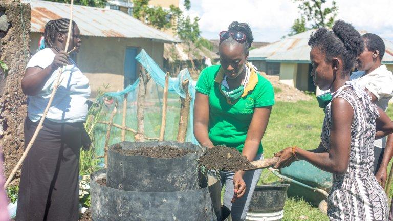 Installing modern farming techniques for the women farmers