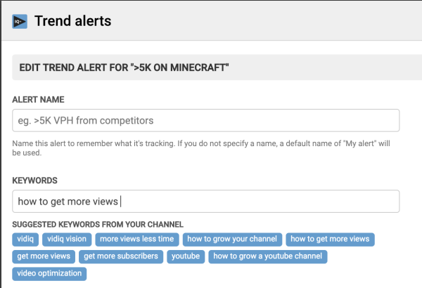 YouTube Trend Alerts