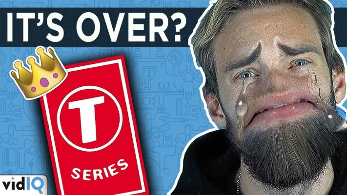T Series Beats PewDiePie As The Most Subscribed to Channel