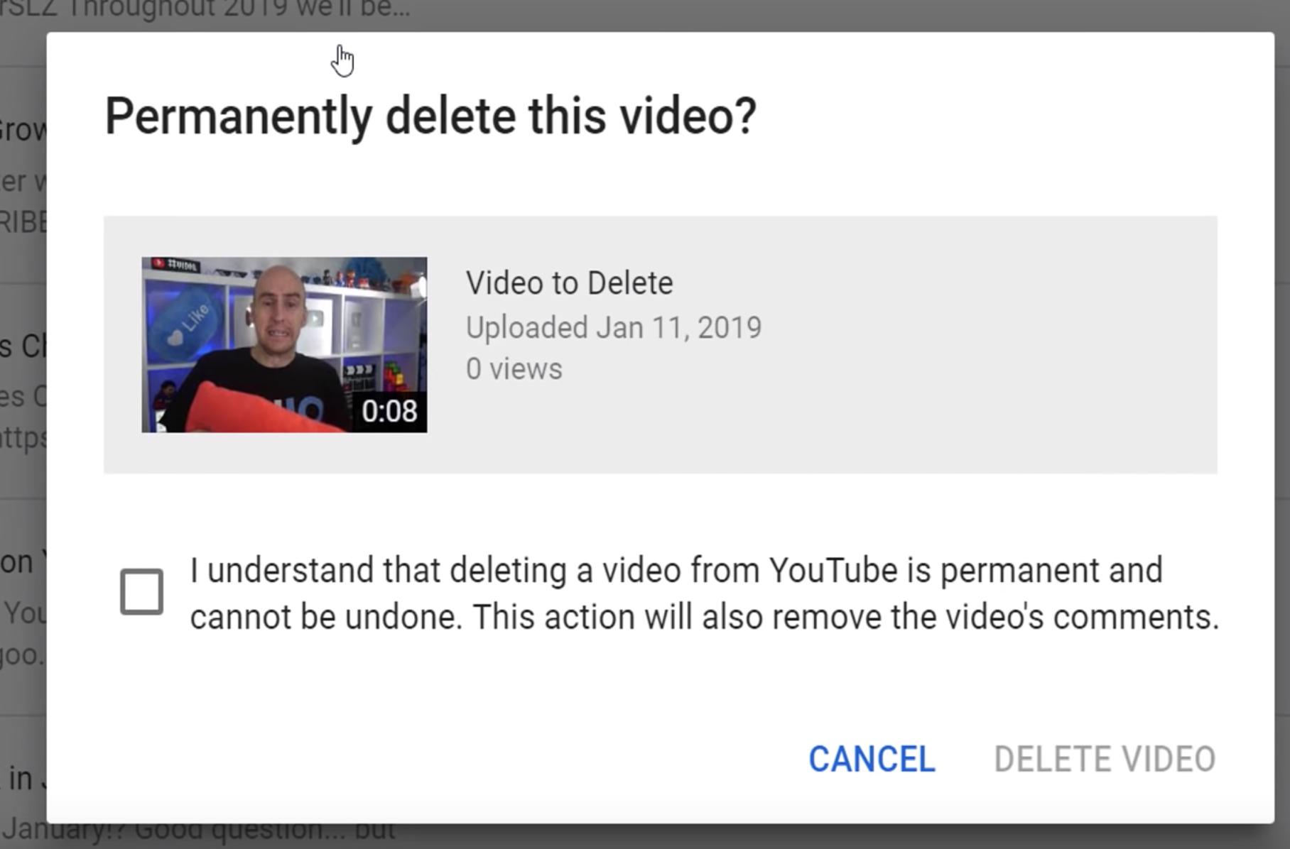 How to Delete YouTube Videos In The New Creator Studio 2019