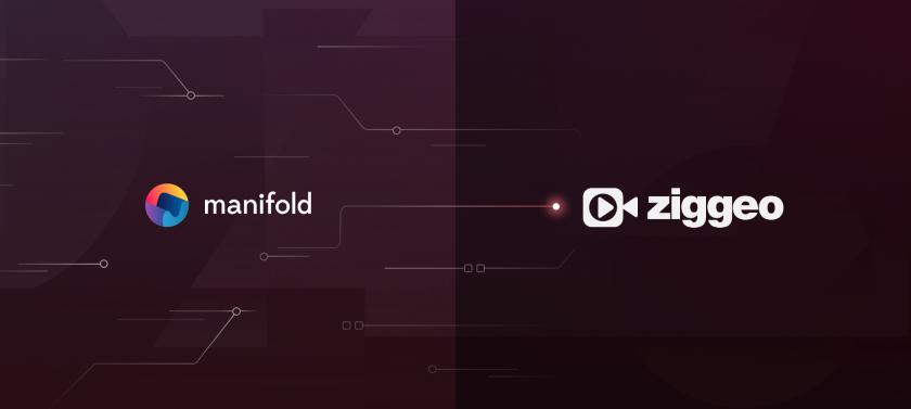 Award-Winning Video service Ziggeo joins the Manifold Marketplace