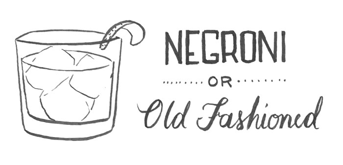 Negroni or Old Fashioned