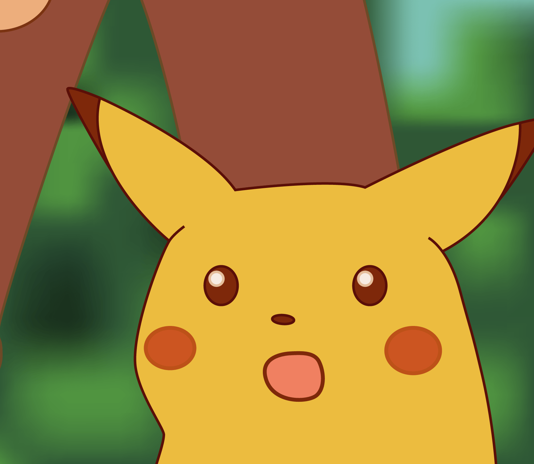 shocked Pikachu meme