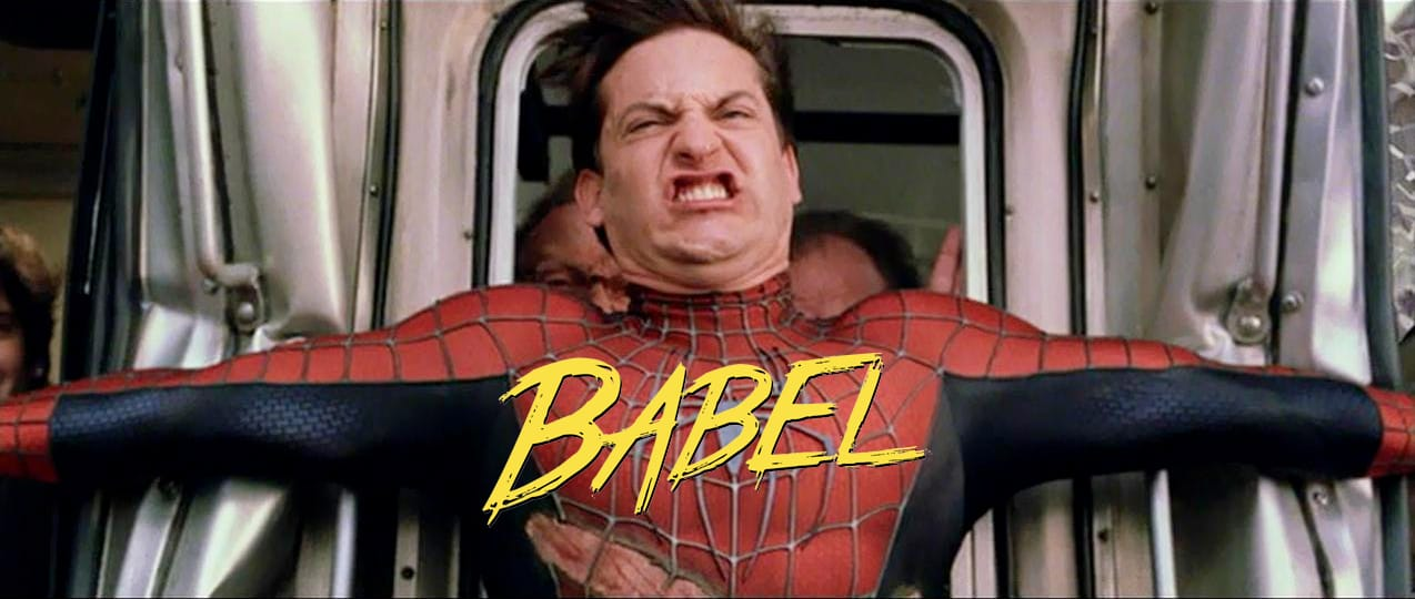 The Amazing Babel-man