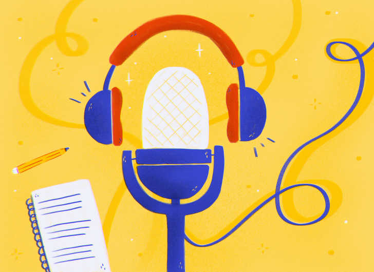 microphone-headphones-podcasts-classroom