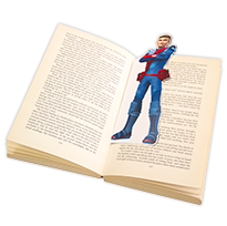 Thunderbirds Are Go Bookmarks