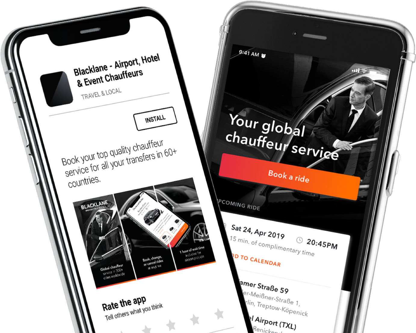 Blacklane | Upgrade your travels