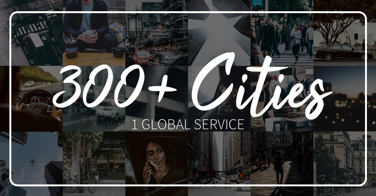 300 Cities 1 Global Service