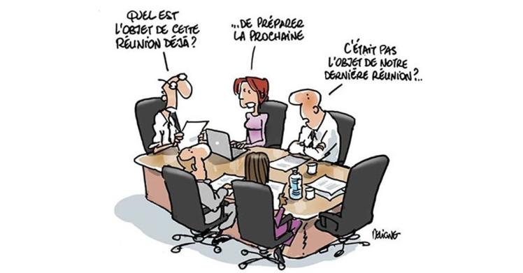 visual no meeting policy