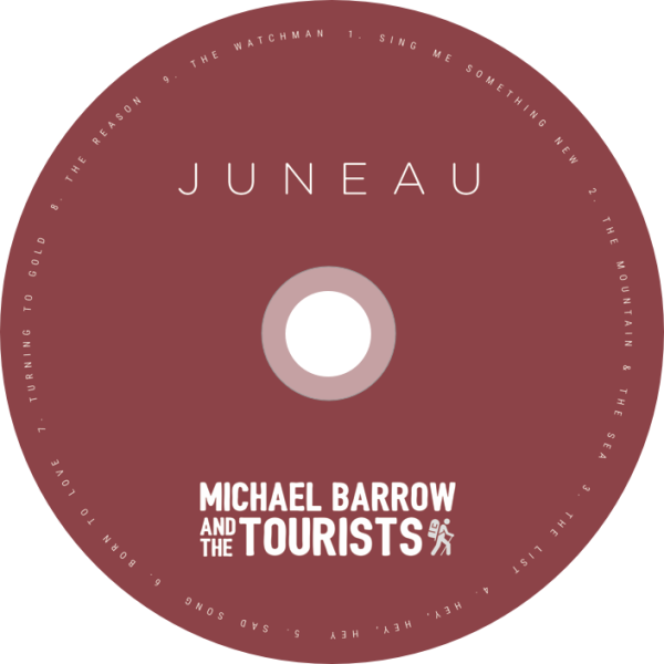 Juneau - CD Label | This it the label for the physical CD inside the jewel case.