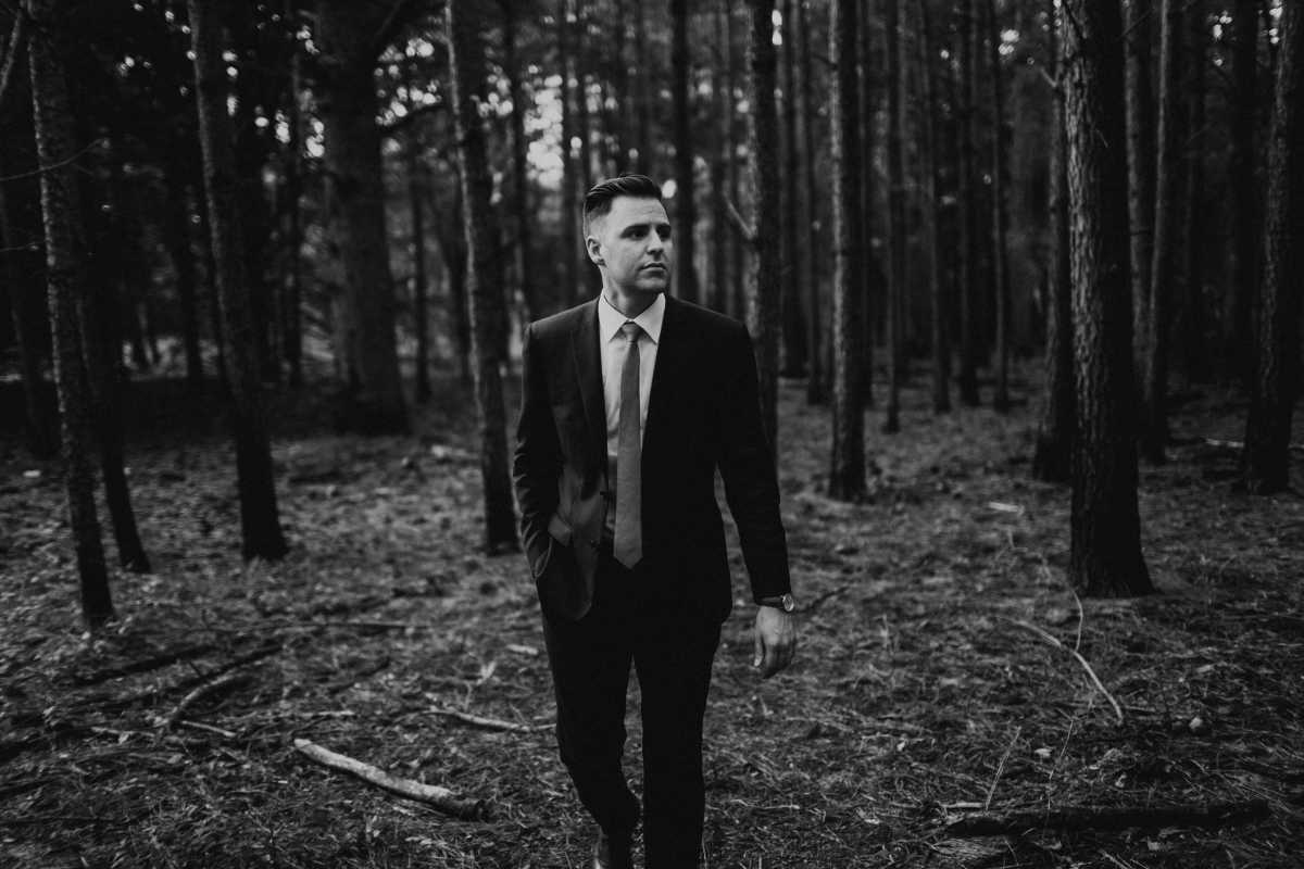 Wedding Photos - Walking in the Woods |