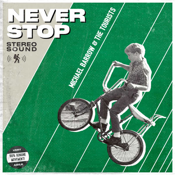 Never Stop Album Cover | Never Stop Album Cover