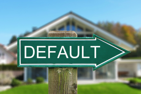 Information about consequences of default on second mortgage