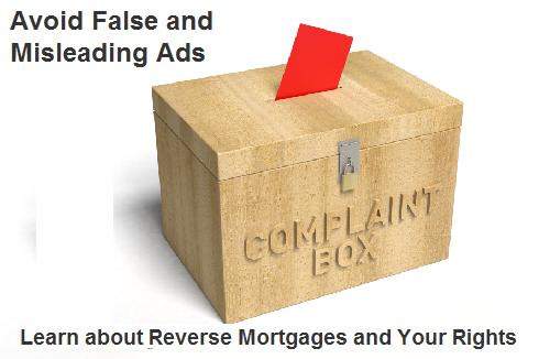 Common Reverse Mortgage Complaints
