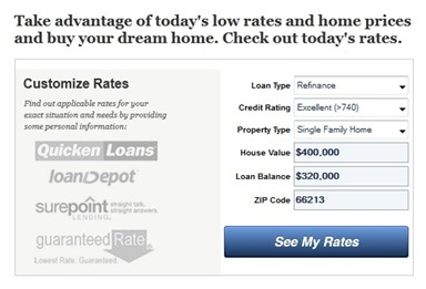 Finding Lowest Customized Mortgage Rates