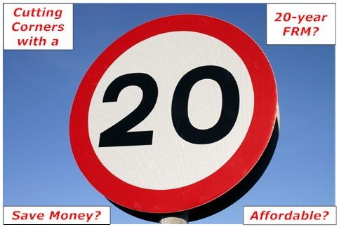 20-Year Mortgage Rates | The Middle Road