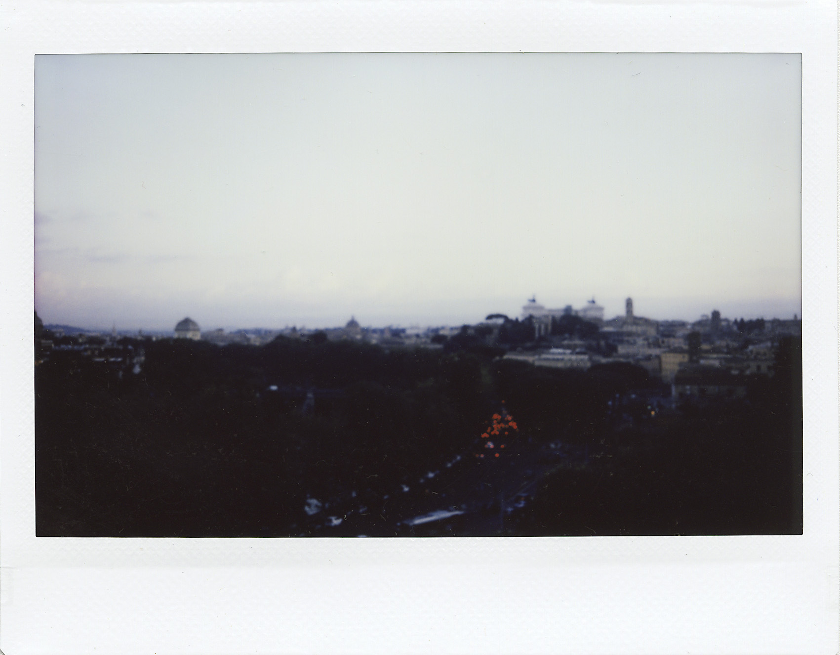 2. blurred morning Rome