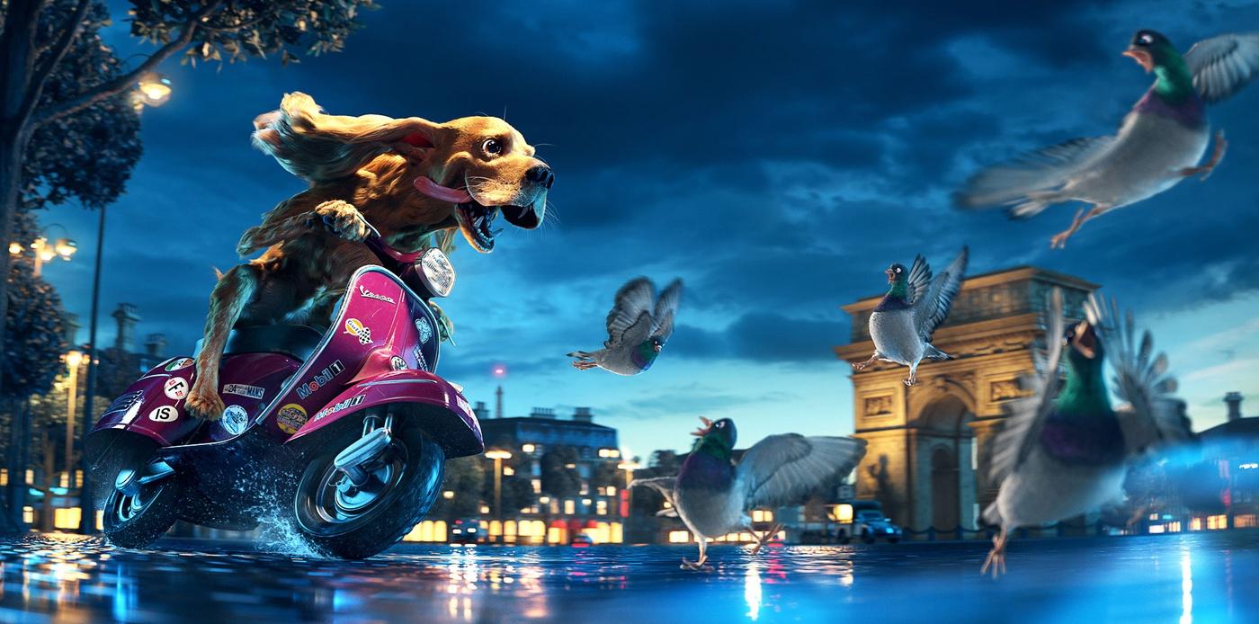 3ds Max制作:飚车的西班牙猎狗
