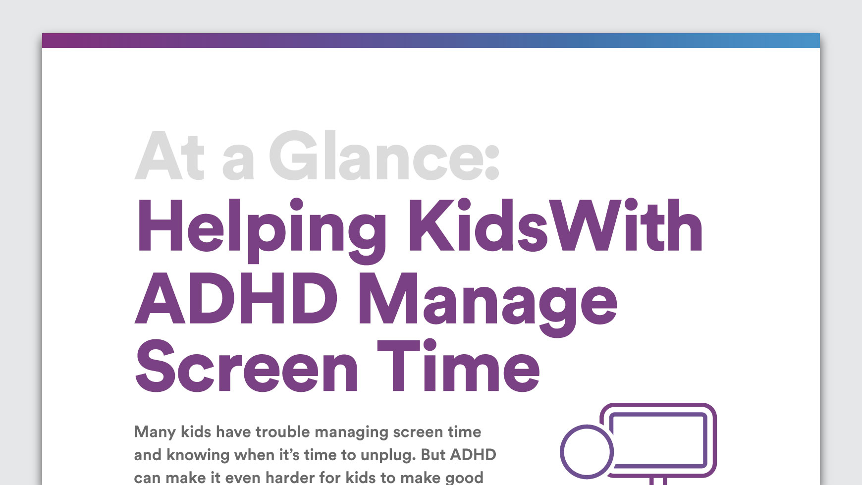 How To Help Kids Manage Sleep >> Adhd And Screen Time