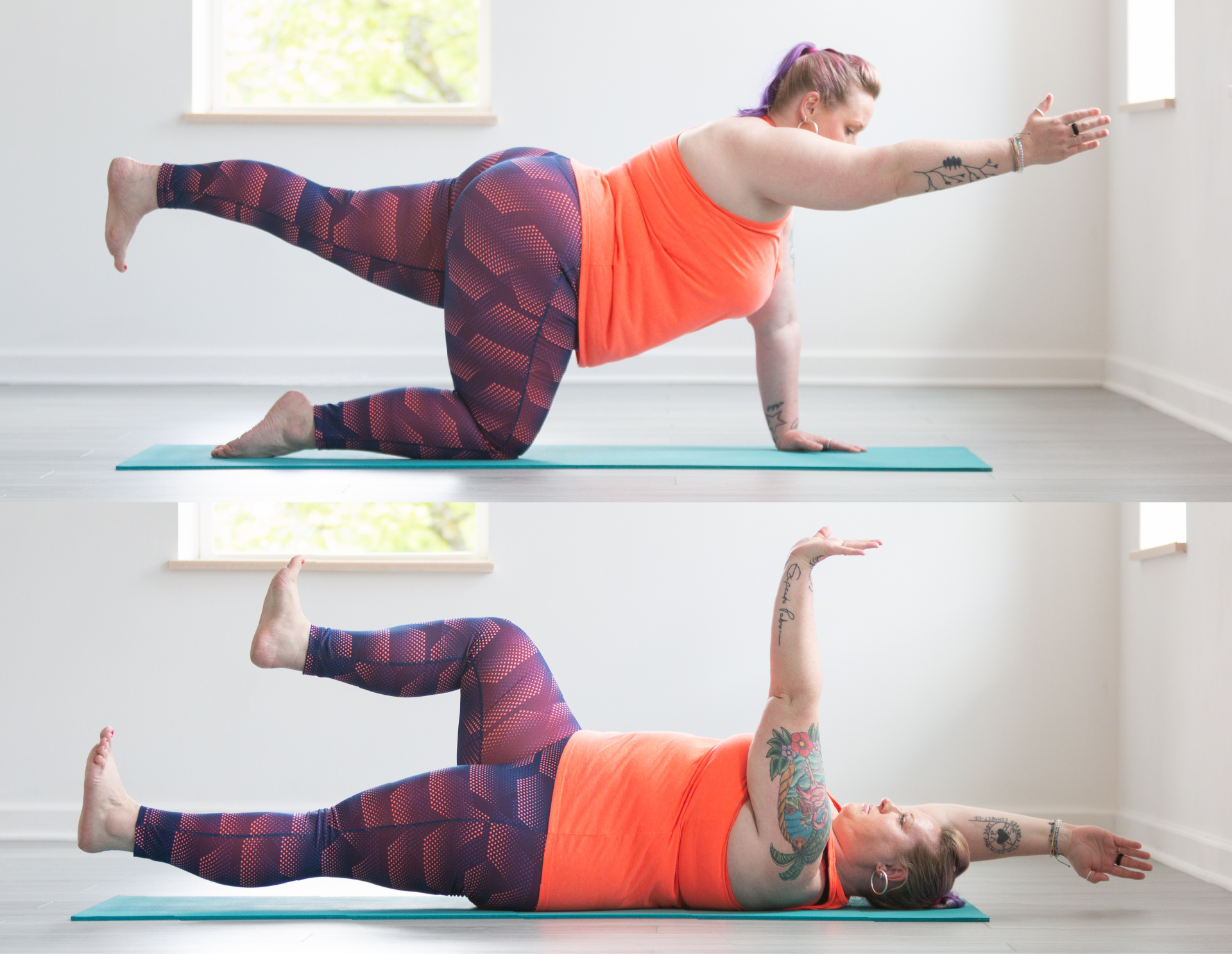 50 Knee Friendly Pose Modifications