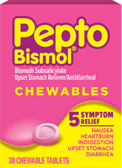Chewable cherry tablets