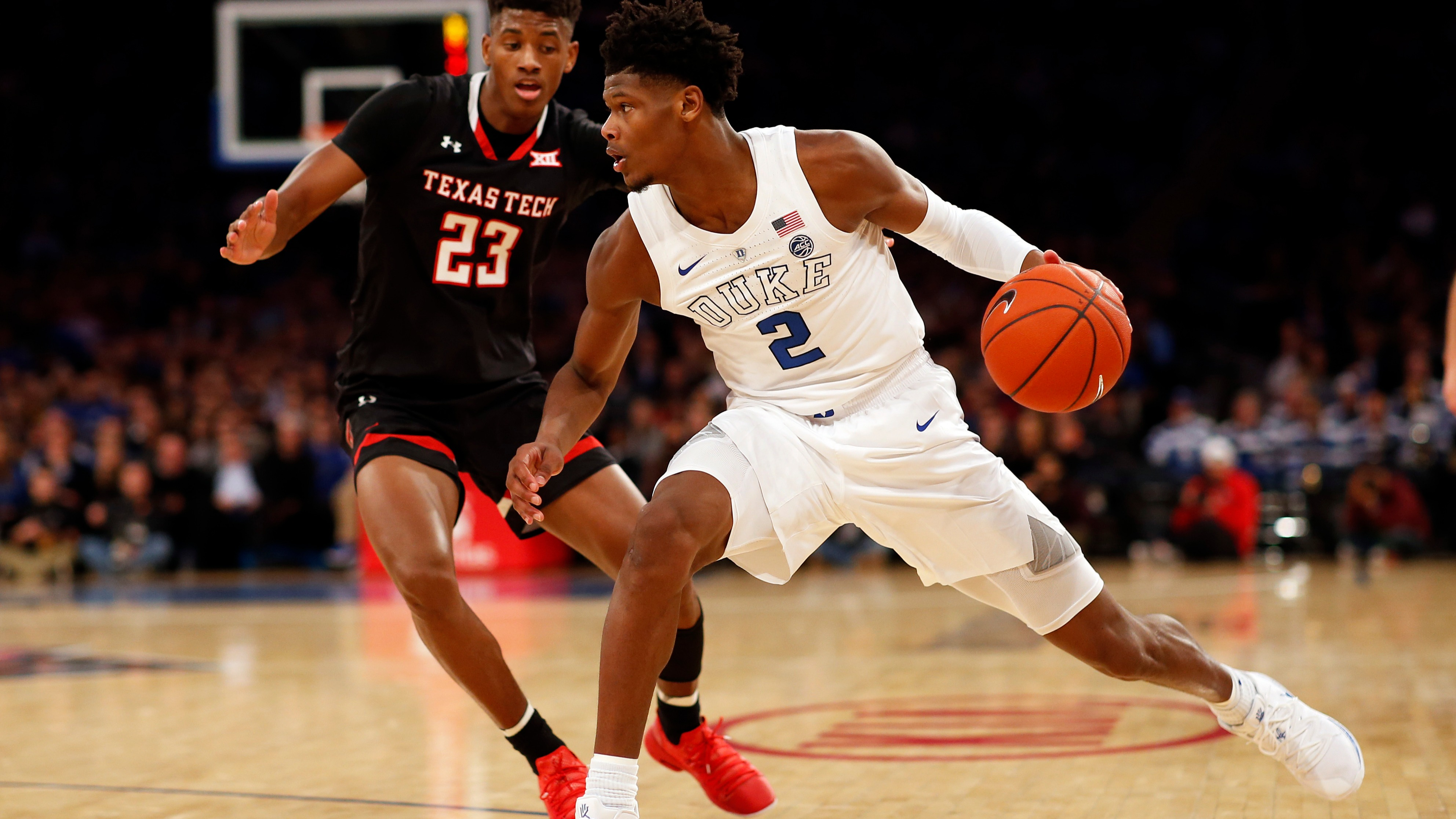 best website 16e07 f25c8 Duke is back on top of the AP Top 25 rankings but one Las Vegas oddsmaker  says the Blue Devils could be in trouble once ACC play begins next month  and ...