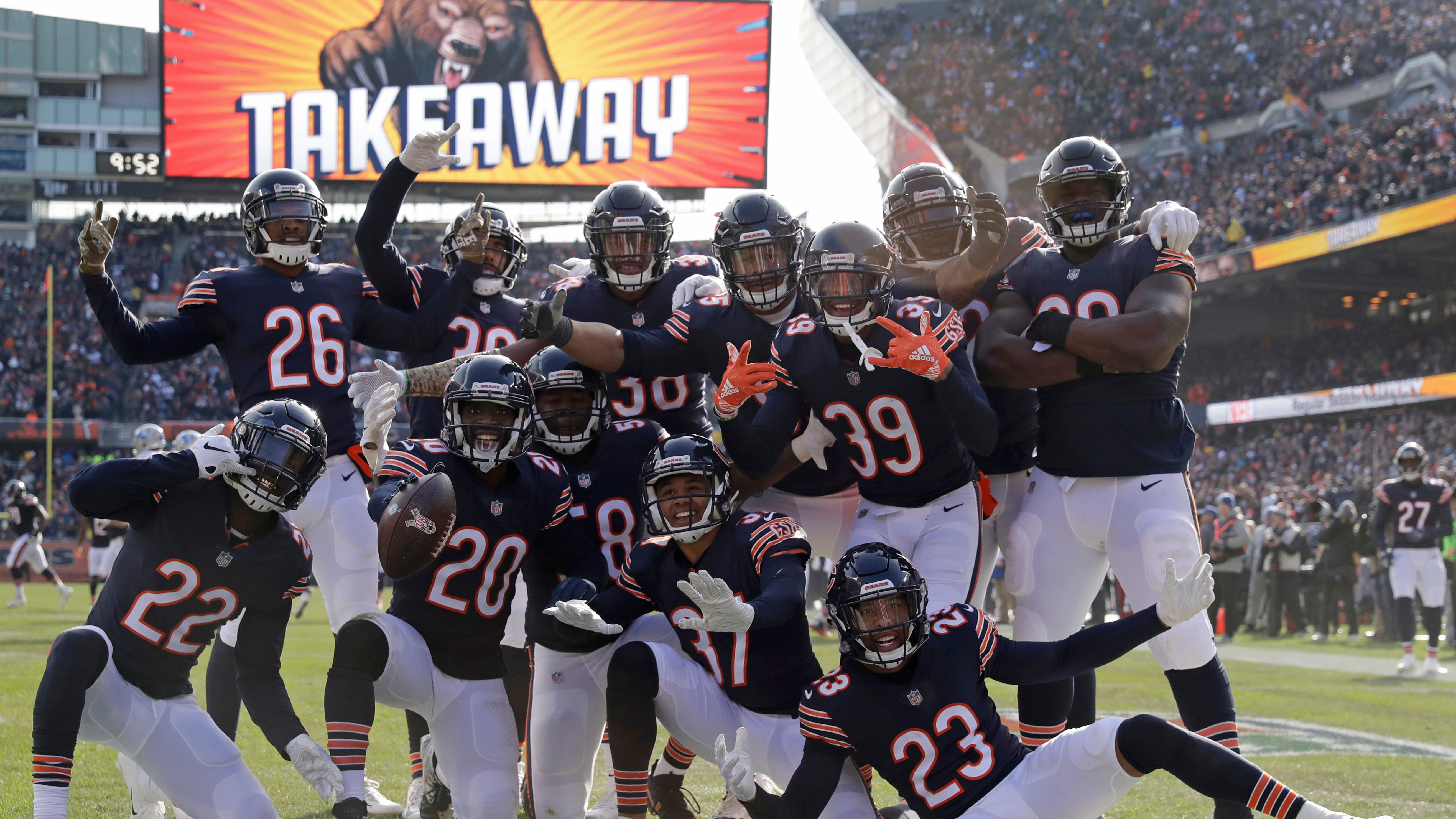 NFL win totals for 2019 season: Oddsmakers set Bears at 9 5