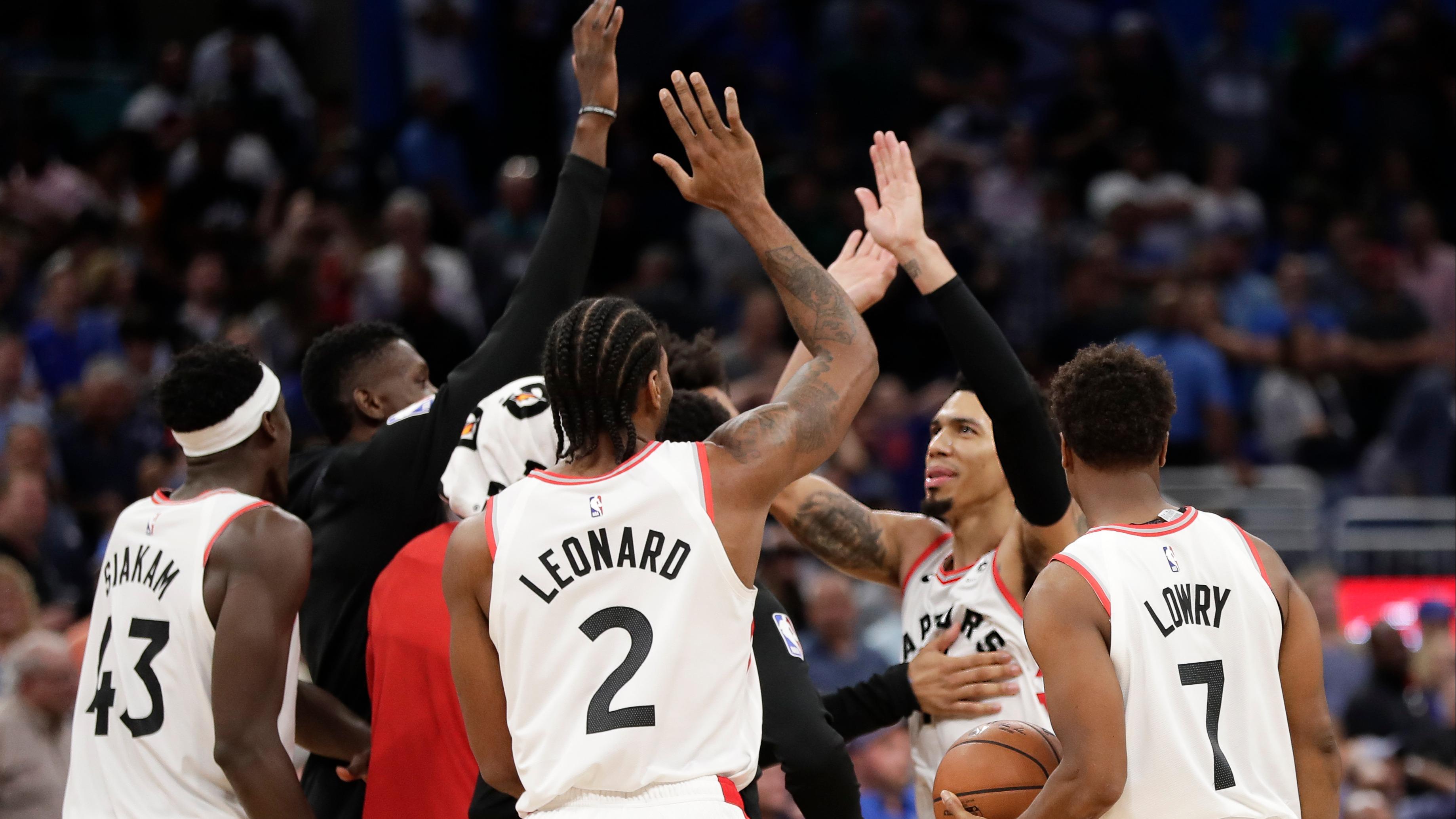 Odds to win 2018-19 NBA championship: Raptors up, Rockets down