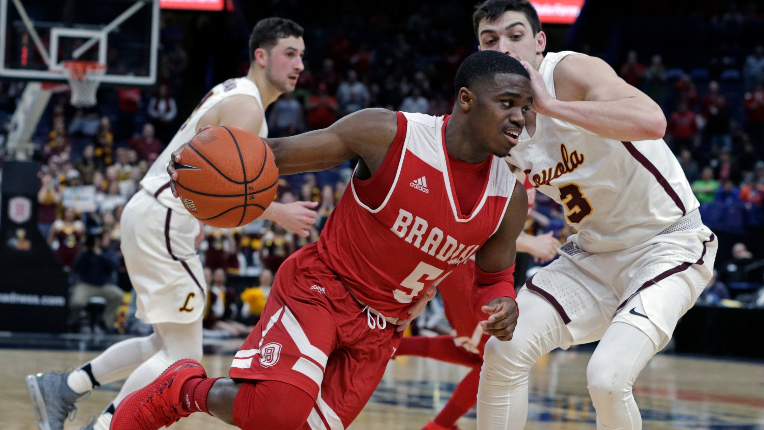 Bradley at Loyola-Chicago betting lines, odds, prediction
